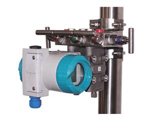 Блок клапанный (двухвентельный) для установки преобразователя давления измерительного БК-3 1G